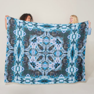 Cobertor De Velo Roda nativa decorativa do Shaman do espírito do