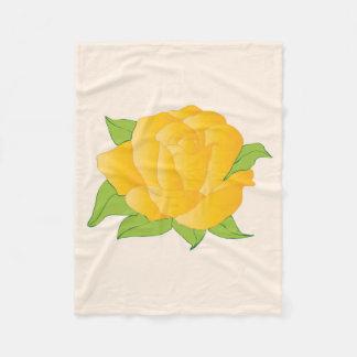 Cobertor De Velo Rosa amarelo moderno
