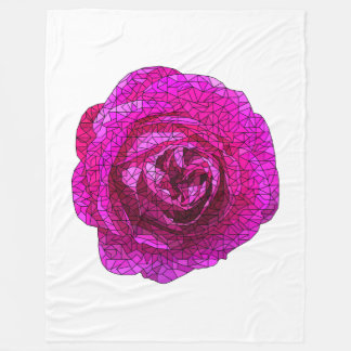 Cobertor De Velo Rosa fraturado do rosa