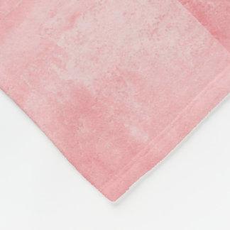 Cobertor De Velo Rosa Textured