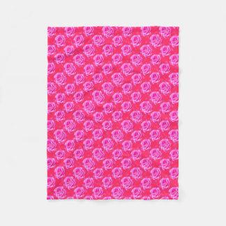 Cobertor De Velo Rosas cor-de-rosa no rosa Bokeh da faísca, -