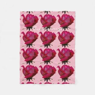 Cobertor De Velo rosas vermelhas Thunder_Cove alguma cor
