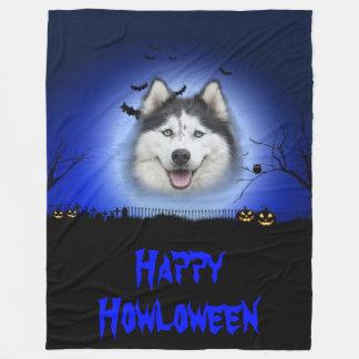 Cobertor De Velo Rouco feliz de Howloween