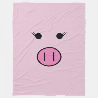 Cobertor De Velo Sadie o porco cor-de-rosa