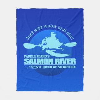 Cobertor De Velo Salmon River (azul)