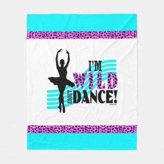 Cobertor De Velo Selvagem sobre a dança