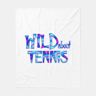 Cobertor De Velo Selvagem sobre o tênis