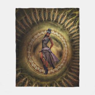 Cobertor De Velo senhora B de Steampunk da fantasia
