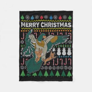Cobertor De Velo Série feia dos animais selvagens da camisola do
