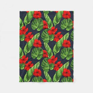 Cobertor De Velo Série sem emenda 3 do teste padrão das folhas