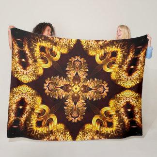 Cobertor De Velo Serpente do dragão do ouro
