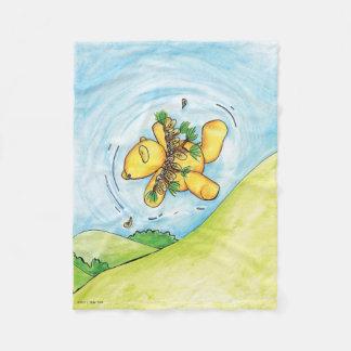 Cobertor De Velo Sidney o vôo do urso