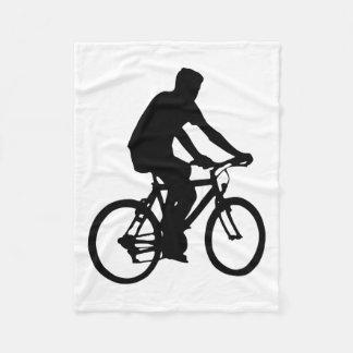 Cobertor De Velo Silhueta do Bicyclist