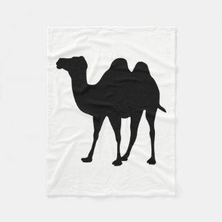 Cobertor De Velo Silhueta do camelo