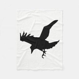 Cobertor De Velo Silhueta do corvo