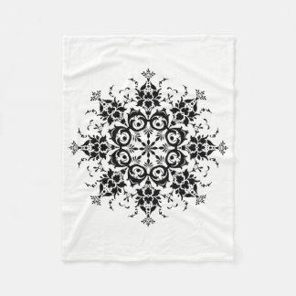Cobertor De Velo Silhueta floral