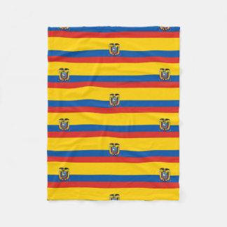 Cobertor De Velo Símbolo da bandeira de país de Equador por muito