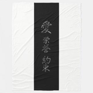 Cobertor De Velo Símbolo japonês: Promessa da honra do amor
