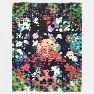 Cobertor De Velo Sinal de paz colorido dos círculos