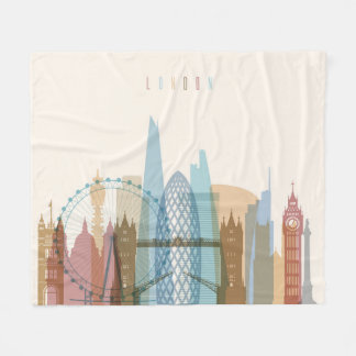 Cobertor De Velo Skyline da cidade de Londres, Inglaterra |