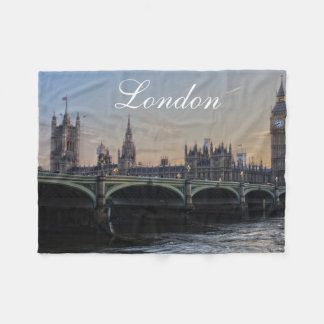 Cobertor De Velo Skyline de Londres