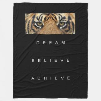 Cobertor De Velo sonho que acredita que o consegue motivação