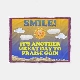 Cobertor De Velo Sorriso! É um outro grande dia para elogiar o