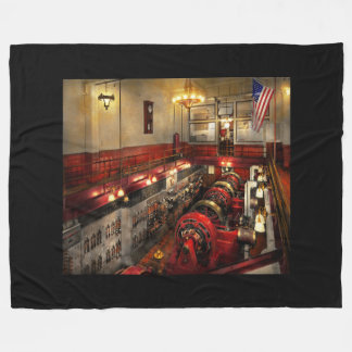 Cobertor De Velo Steampunk - a sala de motor 1974