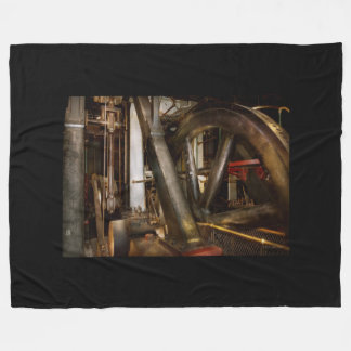 Cobertor De Velo Steampunk - rodas do progresso