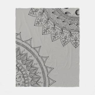 Cobertor De Velo Sun & mandala da lua