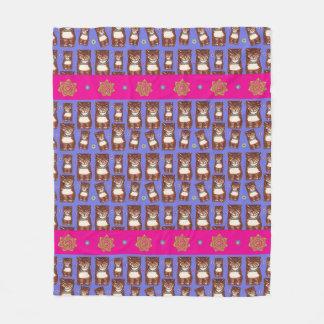 Cobertor De Velo Tamanho médio brilhante da cobertura do velo de