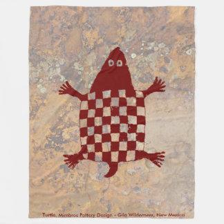 Cobertor De Velo Tartaruga, design da cerâmica de Mimbres