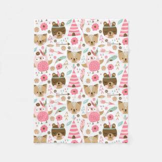 Cobertor De Velo Teepee do ursinho