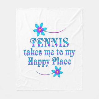 Cobertor De Velo Tênis meu lugar feliz