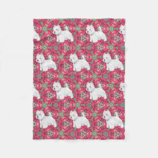 Cobertor De Velo Terrier brancos de montanhas ocidentais