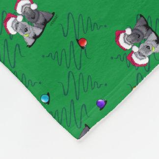 Cobertor De Velo Terrier de Cesky do Natal