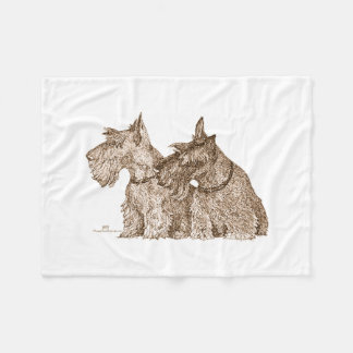 Cobertor De Velo Terrier escoceses