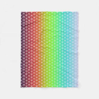 Cobertor De Velo Tessellation geométrico da estrutura do arco-íris