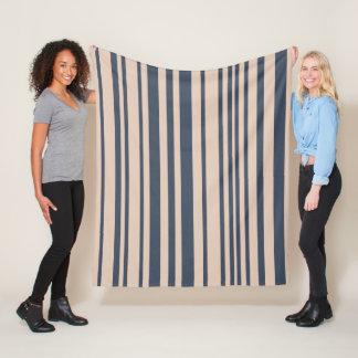 Cobertor De Velo Teste padrão à moda simples da listra do cinza