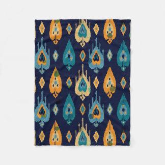 Cobertor De Velo Teste padrão abstrato colorido das penas de Boho