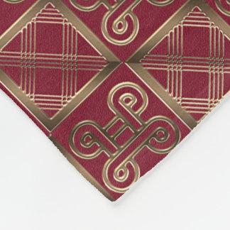 Cobertor De Velo Teste padrão africano étnico com simbols de
