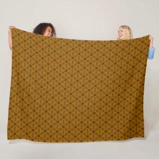 Cobertor De Velo Teste padrão alaranjado do triângulo