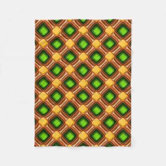 Cobertor De Velo Teste padrão amarelo da gema