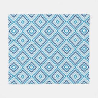 Cobertor De Velo Teste padrão azul do diamante