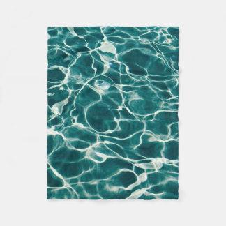 Cobertor De Velo Teste padrão da água da piscina