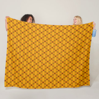 Cobertor De Velo Teste padrão da colmeia do diamante do ouro da