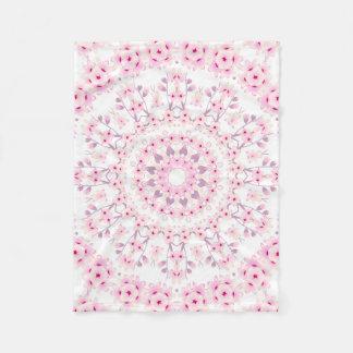 Cobertor De Velo Teste padrão da mandala das flores de cerejeira