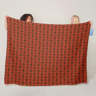 Cobertor De Velo Teste padrão da seda da chama do deus de Horus do