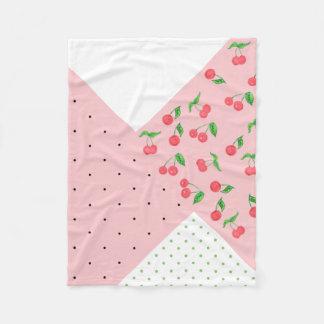 Cobertor De Velo teste padrão de bolinhas bonito do desenho da