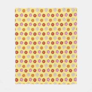 Cobertor De Velo Teste padrão de flor amarelo floral das margaridas